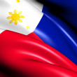 Flag of Philippines — Stock Photo #11946756