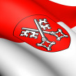 Flag of Regensburg, Germany. - Stock Photo