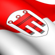 Stock Photo: Flag of Vorarlberg, Austria.