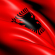 Flag of Albania — Stock Photo