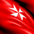 Civil Ensign of Malta — Stock Photo #12167059
