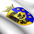 Wymbritseradiel Coat of Arms, Netherlands. — Stock Photo