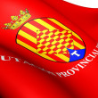 Flag of Tarragona, Spain. — Stock Photo