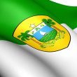 Rio Grande do Norte Flag, Brazil. — Stock Photo #12396378