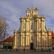 Church of St. Joseph of the Visitationists in Warsaw — Stockfoto