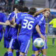 Stock Photo: FC Dynamo Kyiv players congratulate Andriy Shevchenko