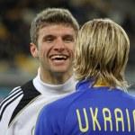 ������, ������: Thomas Muller and Anatoliy Tymoshchuk