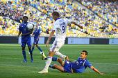 Fc dinamo kiev ve fc tavriya arasında futbol oyunu — Stok fotoğraf