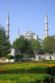 The Blue Mosque in Istanbul, Turkey — Stock Photo