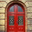 Facade of an old building in Frankfurt Oder — Stock Photo