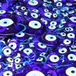 Traditional turkish eye-shaped amulets (nazar boncugu) — Stock Photo #11496532