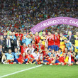 Spain - the winner of UEFA EURO 2012 — Stock Photo #11749328