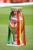 UEFA EURO 2012 Football Trophy (Cup) — Stock Photo