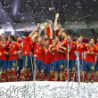 Spain - the winner of UEFA EURO 2012 — Stock Photo #11832457