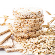 Stock Photo: Oat dietary products