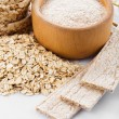 Stock Photo: Oat products