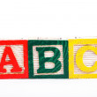 Alphabet blocks — Stock Photo #12166548