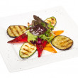 Grilled vegetables (zucchini, eggplant, peppers,) - Stock Photo