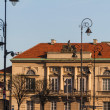 City center of Warsaw, Poland - Stock Photo