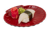 白身魚寿司 — ストック写真