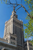 Palace of Culture and Science, Warsaw, Poland — Stockfoto
