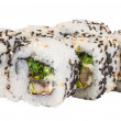 Japanese traditional Cuisine - Maki Roll with Nori , Cream Chees — Stock Photo