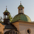 ストック写真: St. James Church on Main Square in Cracow, Poland