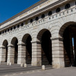 Stock Photo: ViennHeldentor - Entrance to Hofburg and Heldenplatz, Austria