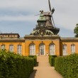 South facade of Sanssouci Picture Gallery in Potsdam, Germany - Stock Photo