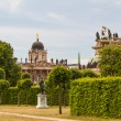 The New Palace in Potsdam Germany on UNESCO World Heritage list - Stock Photo