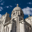 The external architecture of Sacre Coeur, Montmartre, Paris, Fra — Stock Photo