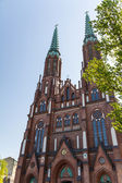 Saint Florian's Cathedral in Warsaw, Poland — Stock Photo