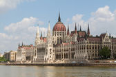 Budapest, the building of the Parliament (Hungary) — Foto Stock