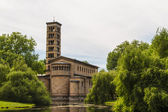 A church in Potsdam Germany on UNESCO World Heritage list — Stock Photo
