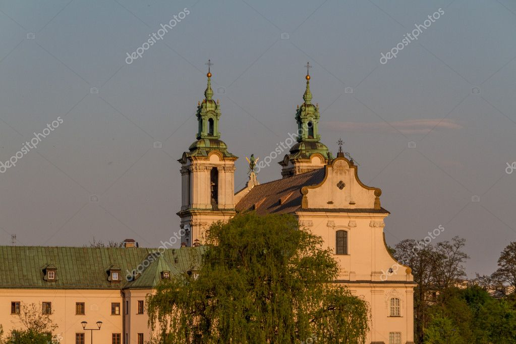 Historic building in Krakow. Poland — Stock Photo #11623188