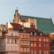 ストック写真: Castle Square in Warsaw, Poland