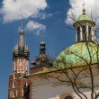 St. James Church on Main Square in Cracow, Poland - Lizenzfreies Foto