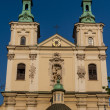 Old Church of Sts. Florian in Krakow. Poland - Lizenzfreies Foto