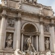 Fountain di Trevi - most famous Romes fountains in the world — Stock Photo #11959643