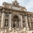 Fountain di Trevi - most famous Romes fountains in the world — Foto de Stock