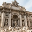 Fountain di Trevi - most famous Romes fountains in the world — Stock Photo