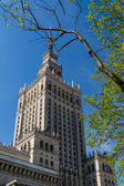 Palace of Culture and Science, Warsaw, Poland — Foto Stock