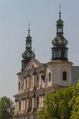 在克拉科夫的历史建筑。波兰 — 图库照片