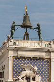 Dierenriem klok, saint markeert plein, venetië, italië — Stockfoto