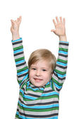 Joyful kid — Stock Photo