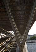 Simone de Beauvoir footbridge — Stock Photo