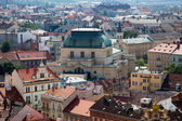 Panorama of historical center of Plzen. Czech republic — Stock Photo