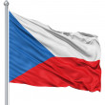 Waving flag of Czech Republic — Stock Photo #11030390
