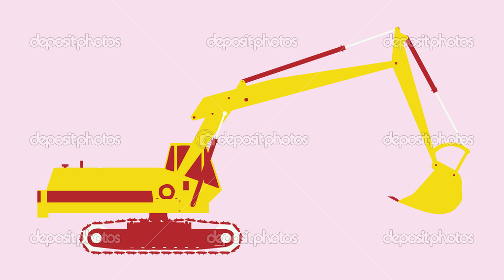 Isolated vector utility vehicle  Stock Vector #12094059
