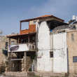 Arab house in old town of Akko, Israel - Stock Photo